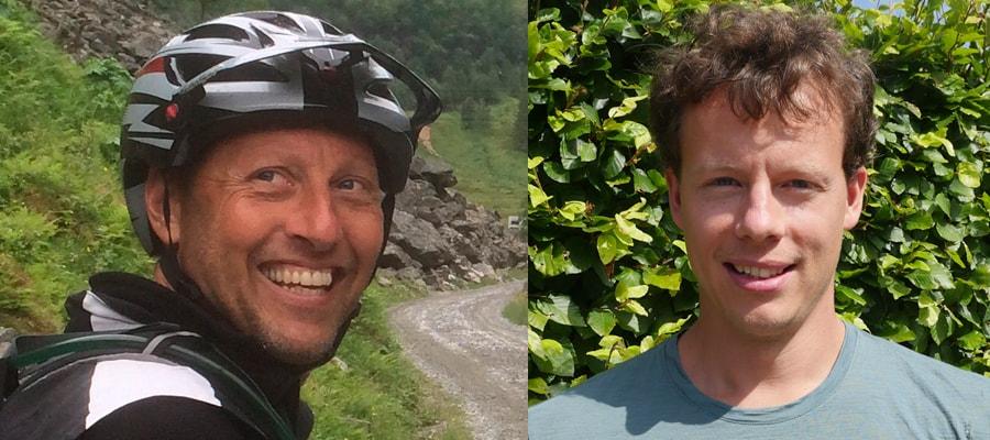 Kursusledere Bo og Jeppe Mountainbike & Højskole