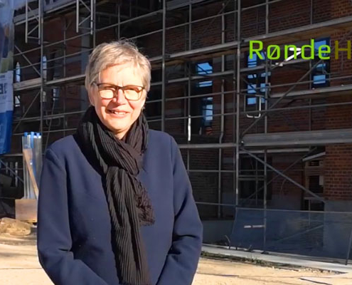Birgit Fuglsbjerg ny hovedbygning